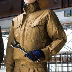 KU91400 空調風神服 長袖ワークブルゾン
