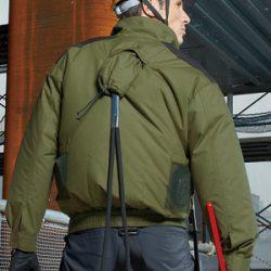 KU93500F 空調風神服 フルハーネス用長袖ブルゾン
