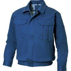 綿100%の厚手生地 長袖ブルゾン KU90600
