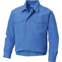 暑さにも、熱さにも強い難燃性素材 長袖ブルゾン KU90740
